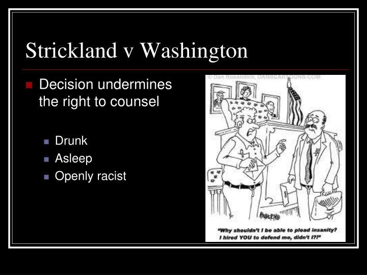 Strickland v Washington