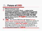 future of ohd
