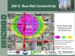 200 s bus rail connectivity