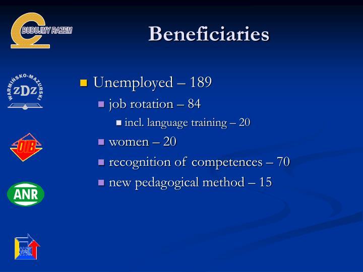 Beneficiaries