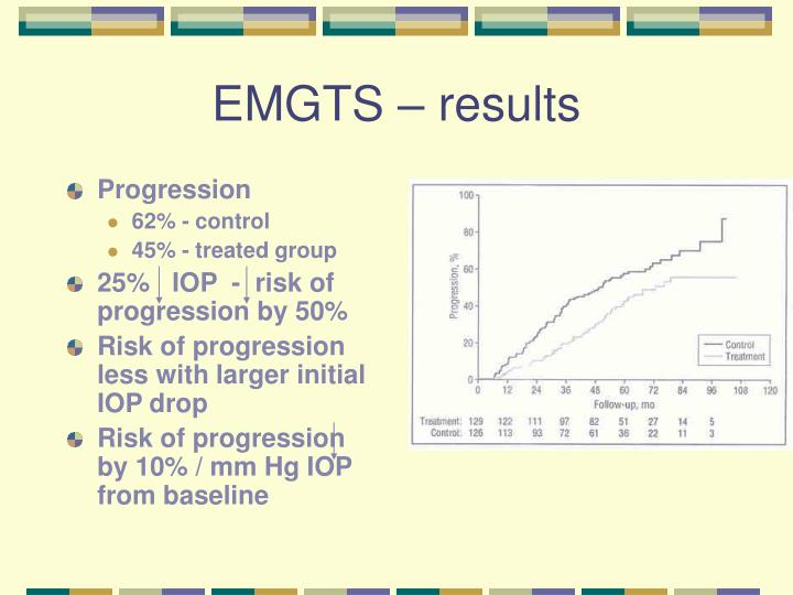 EMGTS – results