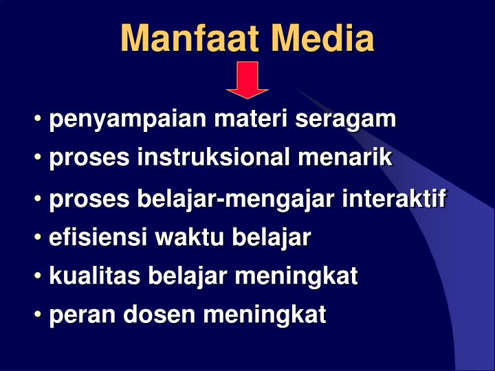 Manfaat media