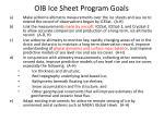 oib ice sheet program goals