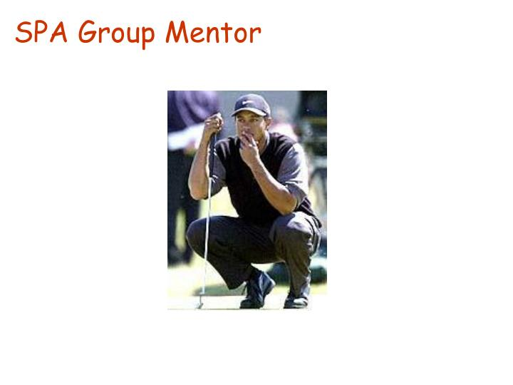 SPA Group Mentor