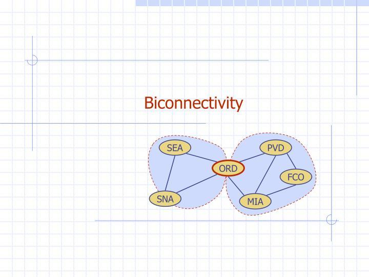 Biconnectivity