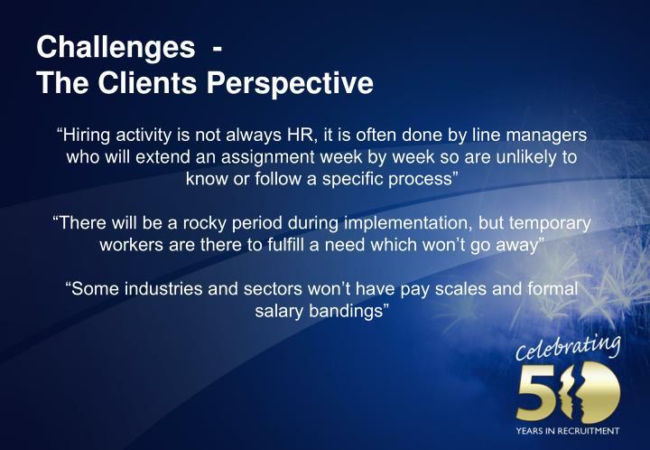 Challenges  -