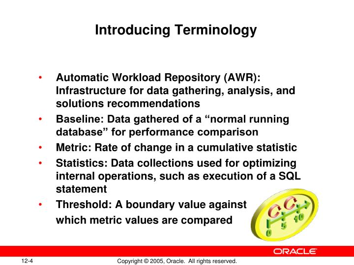 Introducing Terminology