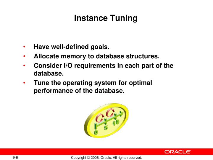 Instance Tuning