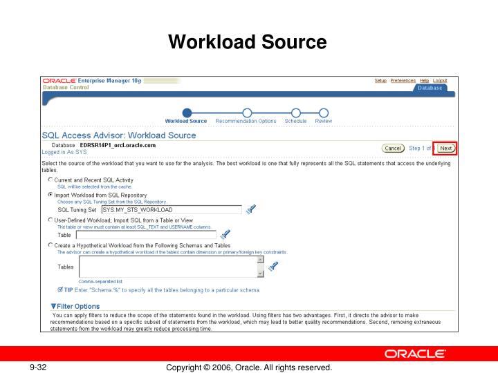 Workload Source