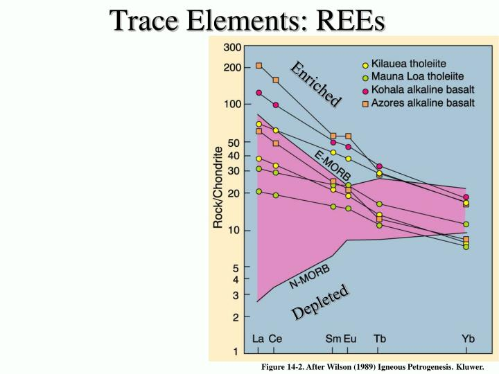 Trace Elements: REEs