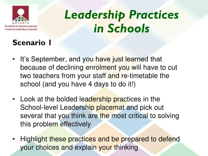 Leadership Practices