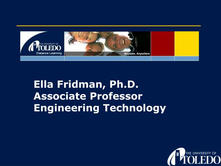 Ella Fridman, Ph.D.