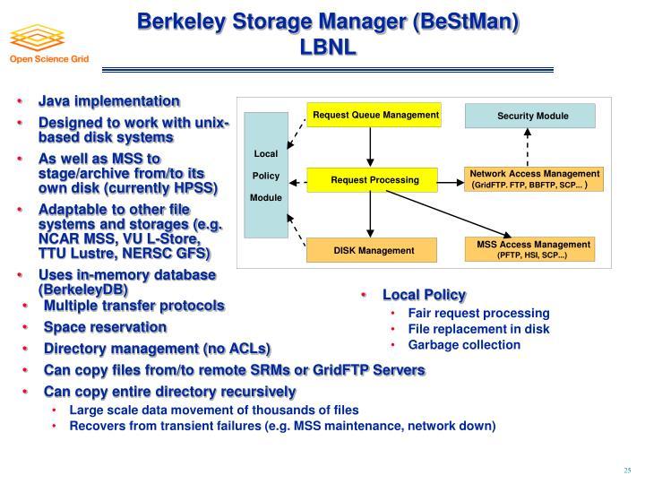 Berkeley Storage Manager (BeStMan)