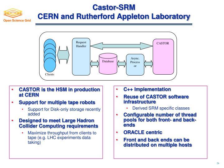 Castor-SRM