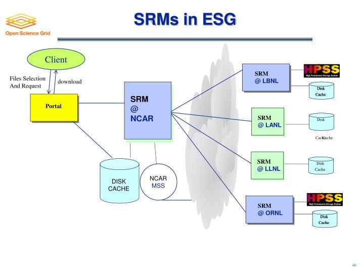 SRMs in ESG