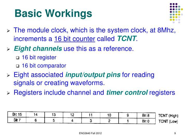 Basic Workings