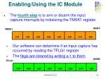 enabling using the ic module1