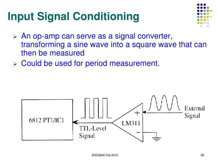 Input Signal Conditioning