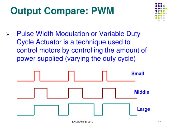 Output Compare: PWM