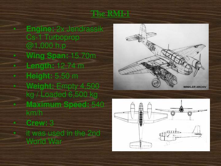 The RMI-1