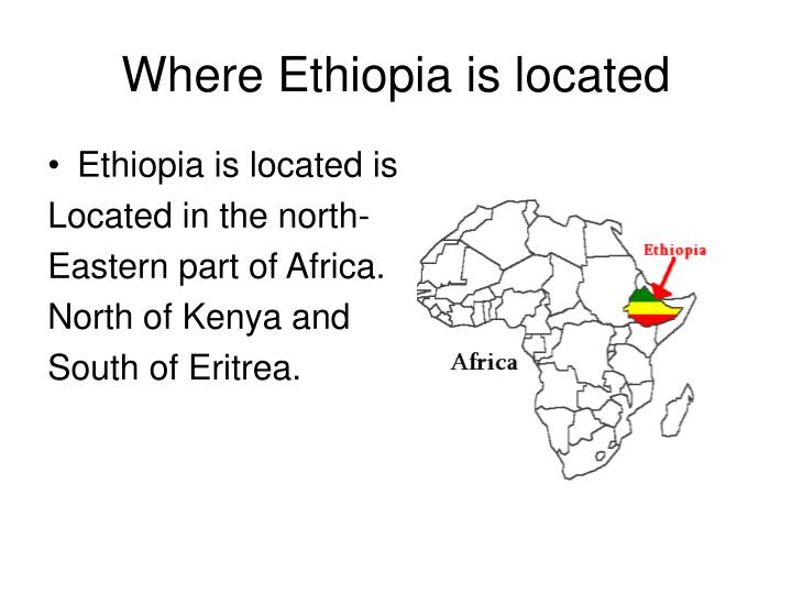 Where ethiopia is located