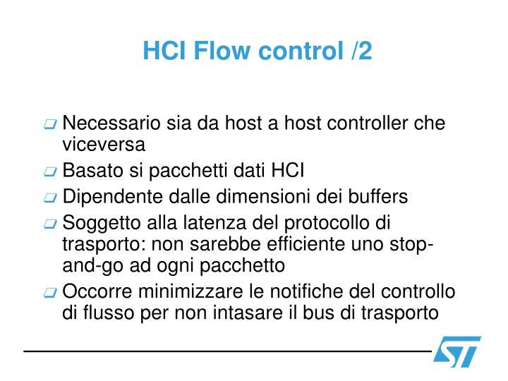 HCI Flow control /2