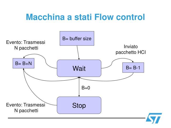 Macchina a stati Flow control