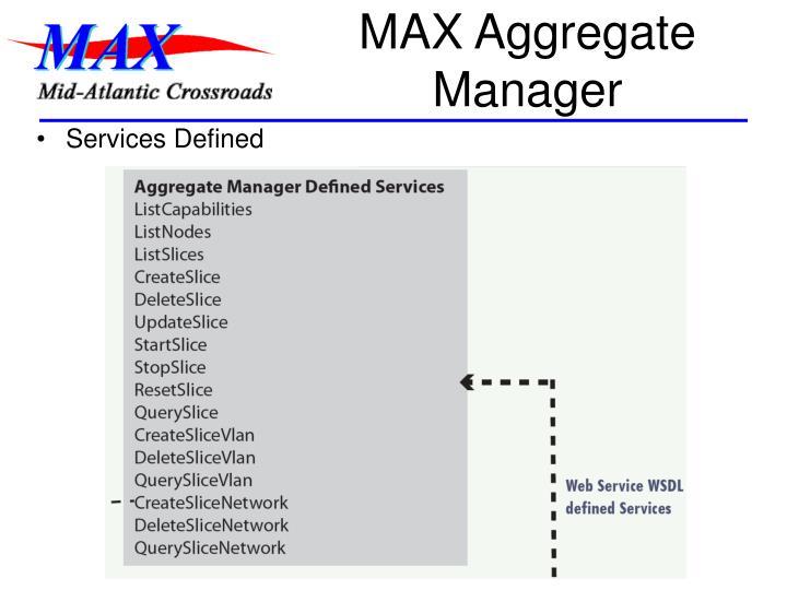 MAX Aggregate