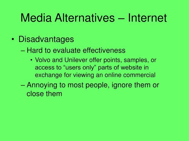 Media Alternatives – Internet
