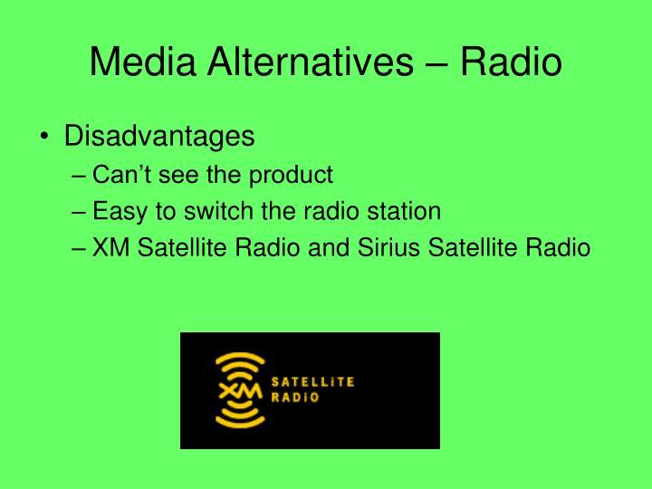 Media Alternatives – Radio