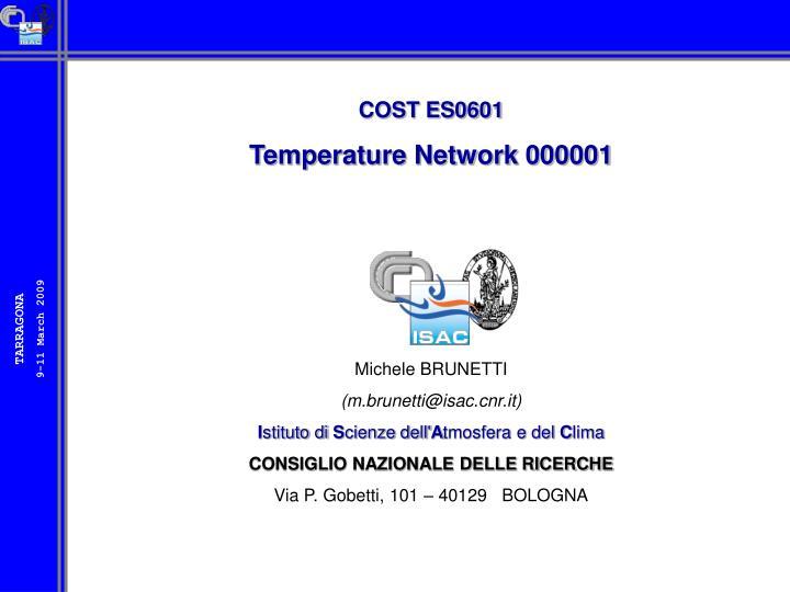 COST ES0601