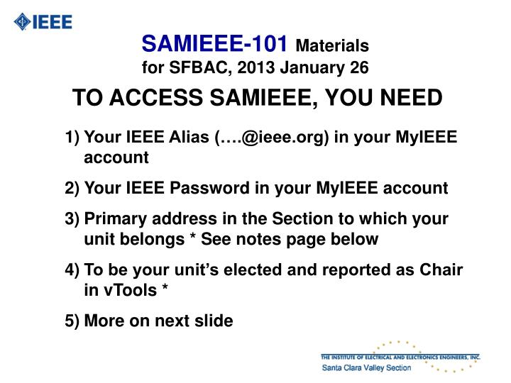 Samieee 101 materials for sfbac 2013 january 261