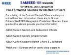 samieee 101 materials for sfbac 2013 january 2611