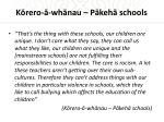 k rero wh nau p keh schools