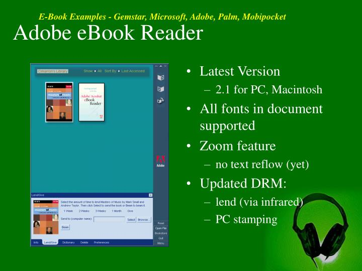 Adobe eBook Reader
