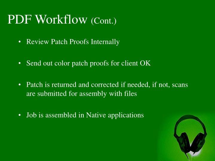 PDF Workflow