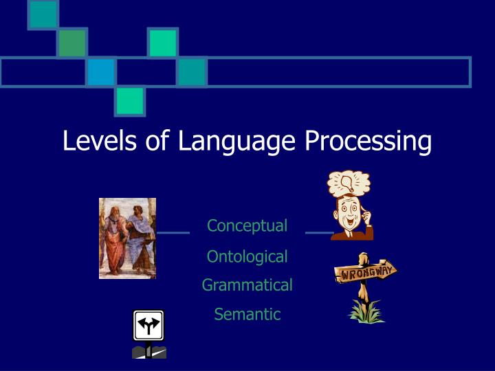 Levels of Language Processing