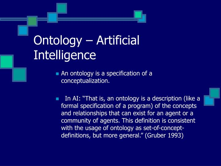 Ontology – Artificial Intelligence
