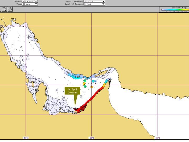 Oil Spill Location