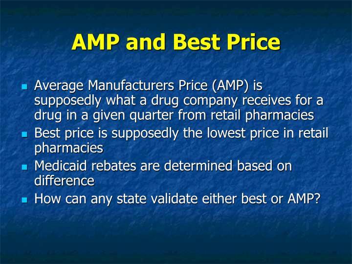 AMP and Best Price