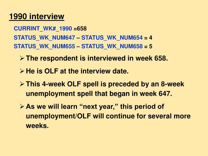 1990 interview