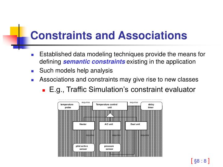 Constraints and Associations