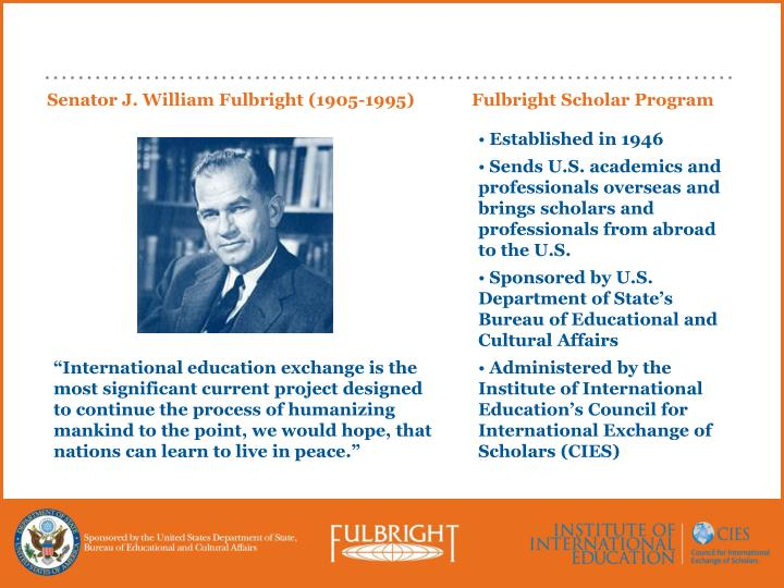 Fulbright Scholar Program
