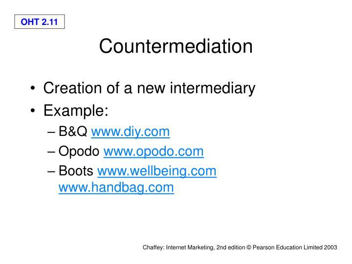 Countermediation