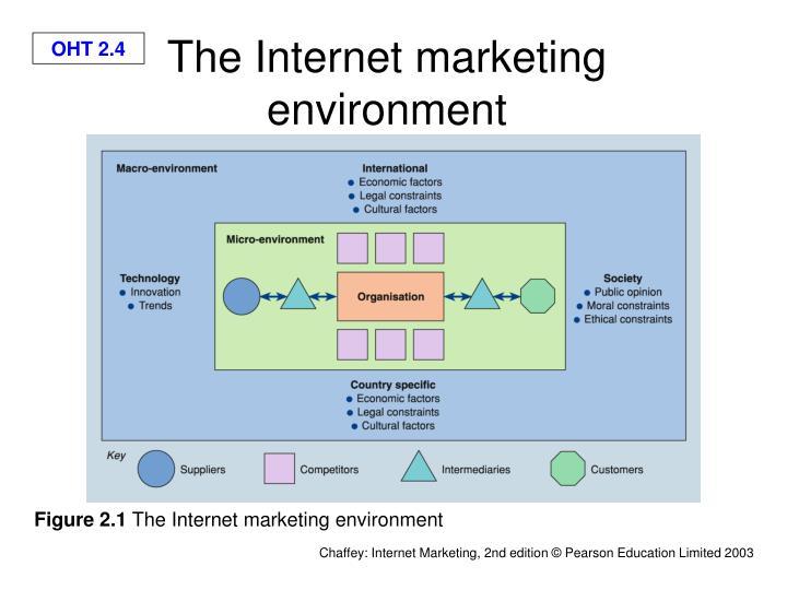 The Internet marketing environment