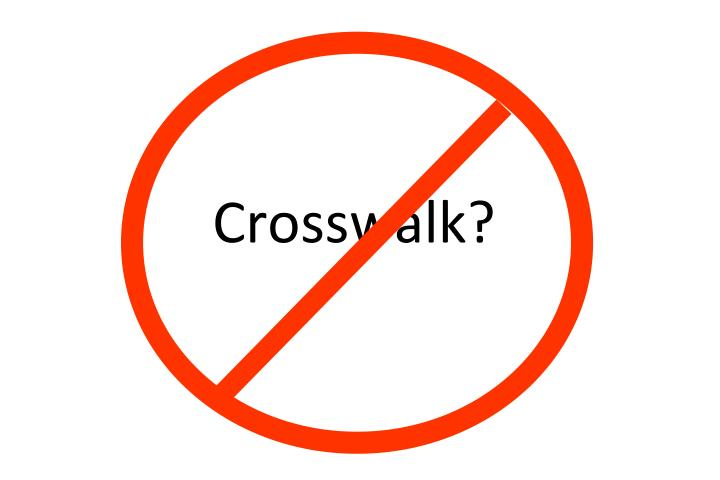Crosswalk?