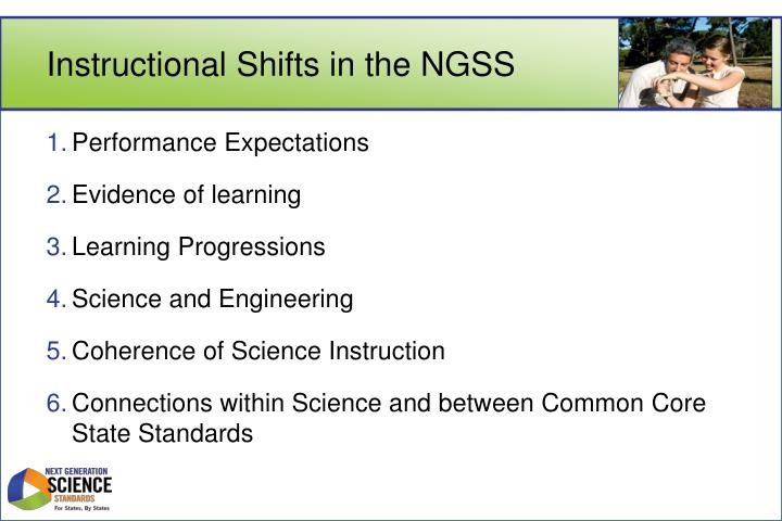 Instructional Shifts in the NGSS