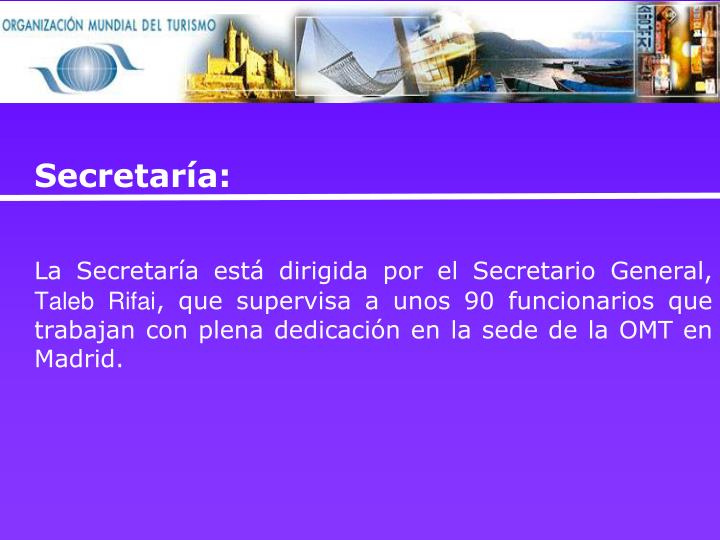 Secretaría: