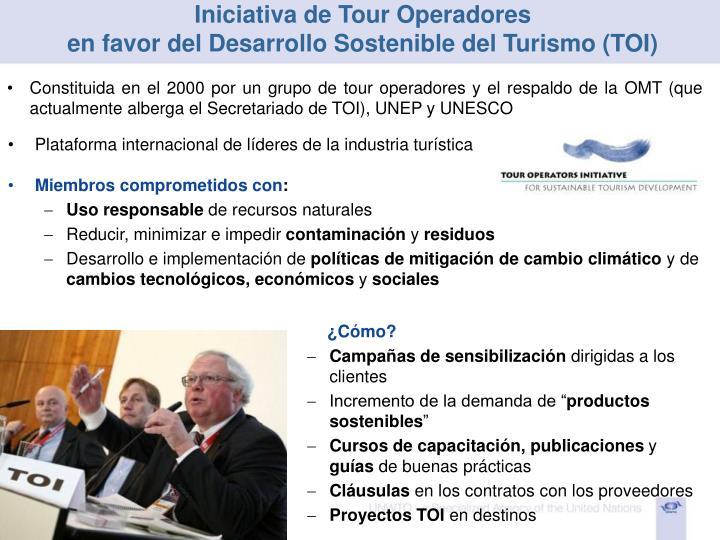 Iniciativa de Tour Operadores