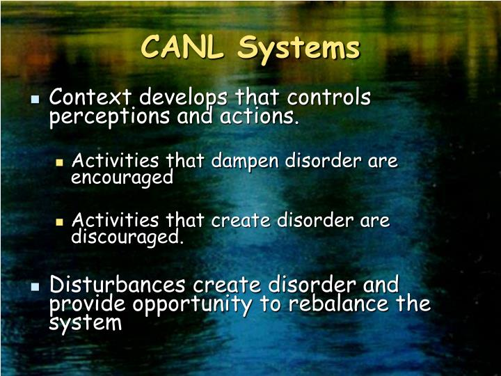 CANL Systems